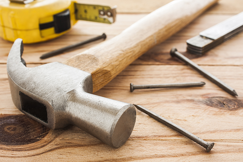 Maintenance tools on a table after home inspection services  are preformed